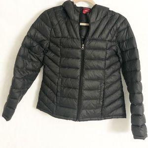 Lightweight Black Down Puffer Jacket size M